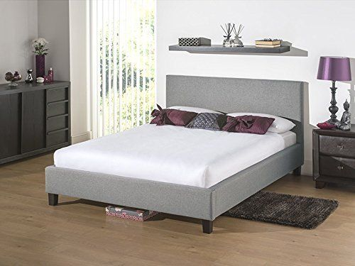Snuggle Beds Newbury Light Grey 5 King Size Fabric Beds Amazon