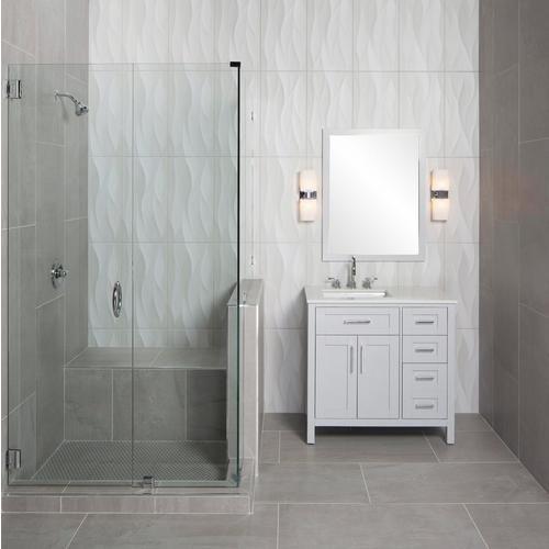 Idole Tear Gray Ceramic Wall Tile Floor Decor In 2020 Grey Ceramic Tile Floor Decor Bathroom Decor