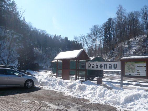 17.03.2013 Wanderung vom Bahnhof in Rabenau nach Malter zur Talsperre
