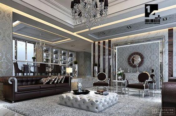 Decorações luxuosas, saiba como deixar sua casa com a cara da riqueza!