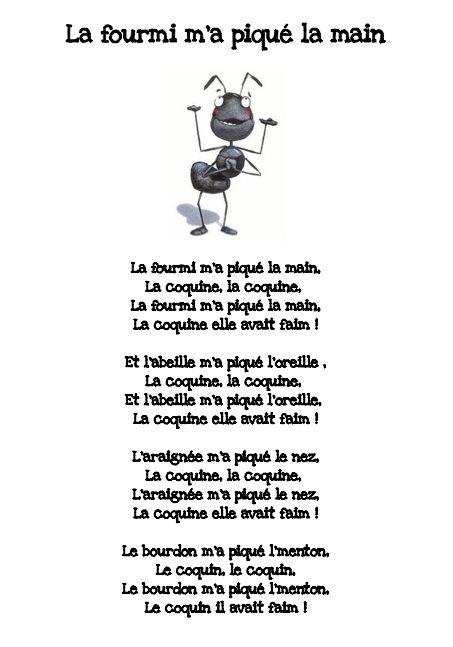 Chansons et comptines - Groupe Scolaire Honoré de Balzac - Saint-Priest