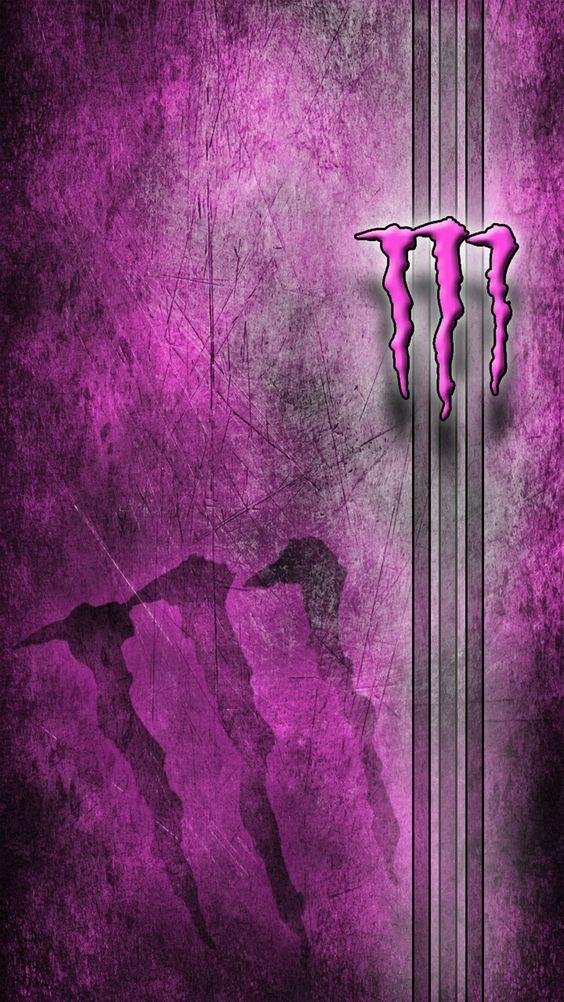 紫背景のロゴ