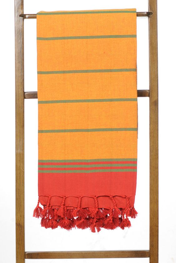 CN 8333 Traditional Colored And Striped Patterned by TowelsWorld, $30.00