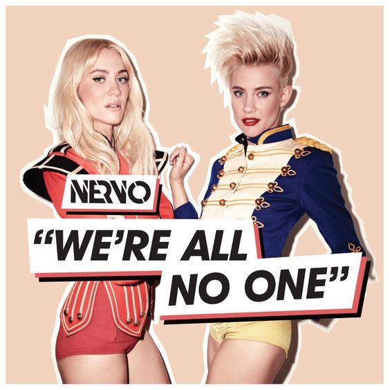 Nervo, Afrojack, Steve Aoki – We're All No One (single cover art)