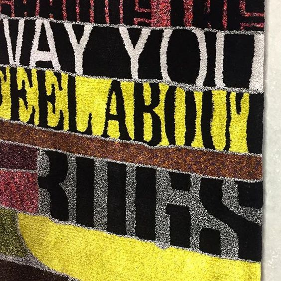 Change the way you feel about rugs @ferreiradesarugs