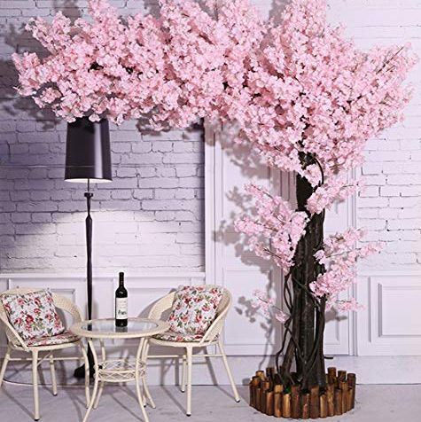 Amazon S Selling Beautiful Cherry Blossom Trees That You Can T Kill In 2020 Cherry Blossom Decor Artificial Cherry Blossom Tree Pink Cherry Blossom Tree