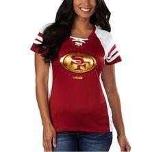 San Francisco 49ers Majestic Women's Draft Me VII T-Shirt – Scarlet