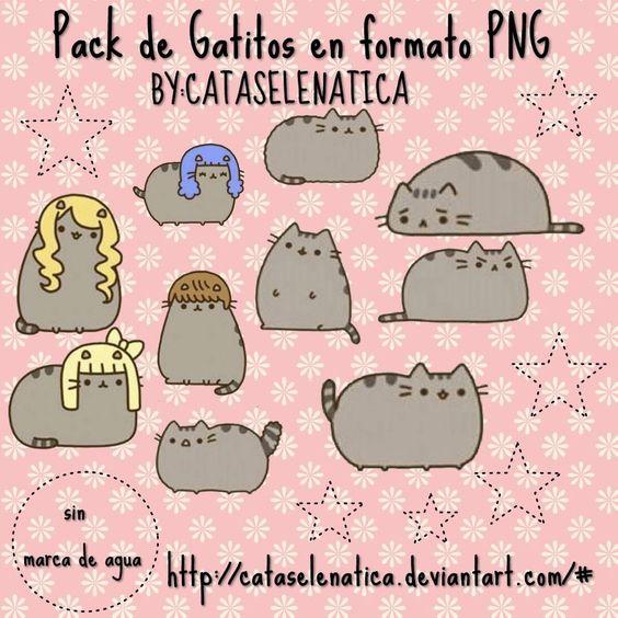 Pack de gatitos Kawaii by ~CataSelenatica on deviantART
