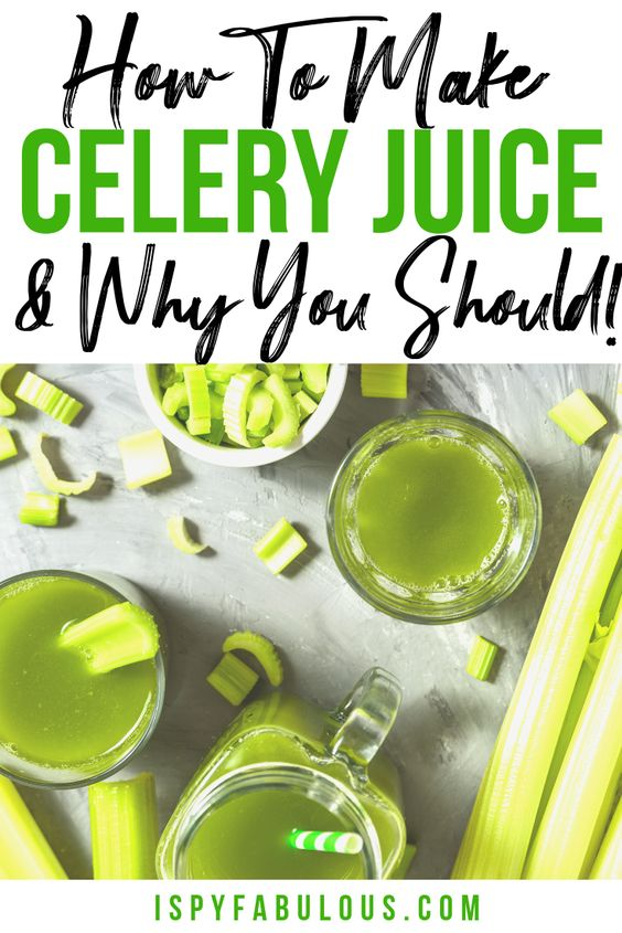 4 Reasons to Drink Celery Juice if You Have an Autoimmune Disease! - I Spy Fabulous