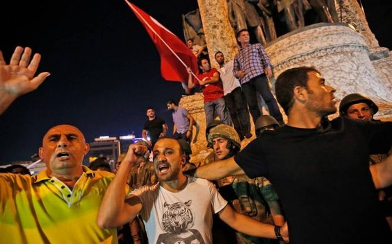 HOW THE COUP IN TURKEY ENDANGERS THE US. July 15, 2016 ... Reports of a coup in Turkey caught Washington off guard Friday as a military faction claimed it had taken control of the strategic U.S. ally. Turkey is a NATO ally and is host to the U.S.-led coalition fighting the Islamic State group. DISTRESS OF NATIONS.
