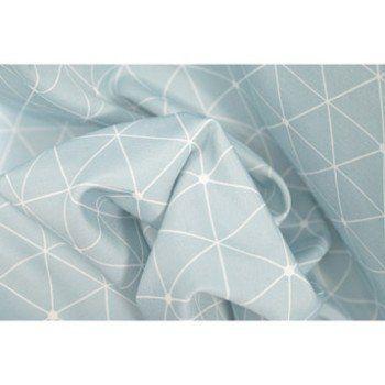 Rideau Antares bleu baltique n°5 l 140 x H 250 cm
