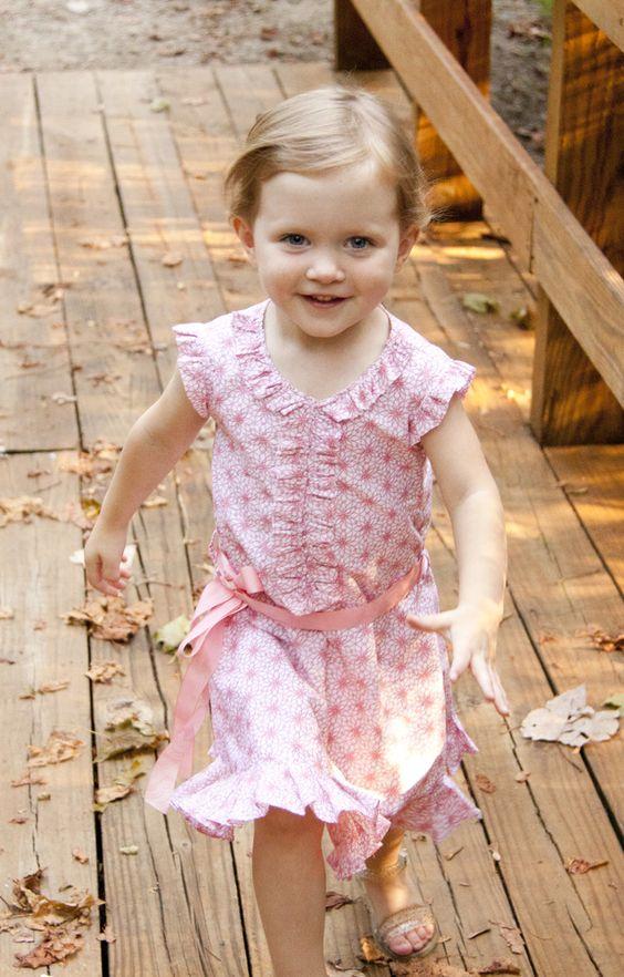 Flutter sleeve the necks and beautiful dresses on pinterest