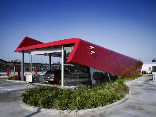An In And Out Car Wash Car Wash Architecture