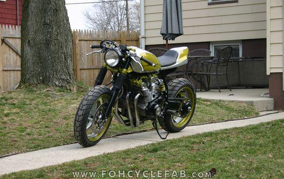 "Racing Cafè: Suzuki GS ""Streetracer"" by FOH Cycle Fabrication"