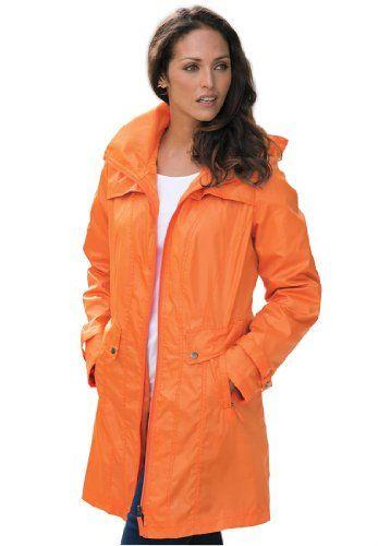 Fashion Bug Plus Size Packable Raincoat www.fashionbug.us
