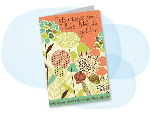 Mahogany birthday card CPT – Hallmark Personalised Birthday Cards
