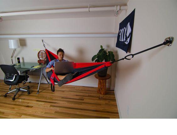Indoor hammock : Camping / Survival : Pinterest : Indoor, Indoor hammock and Hammocks