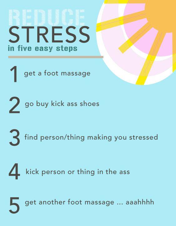 Stress in 5 Easy Steps