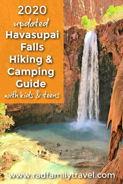 Rad Family Travel How To Get A Permit For Havasupai Havasu Falls Family Travel Havasupai Falls