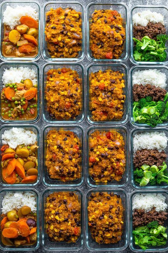 24 Freezer-Friendly Lunches in 2 hours   SweetPeasAndSaffron.com