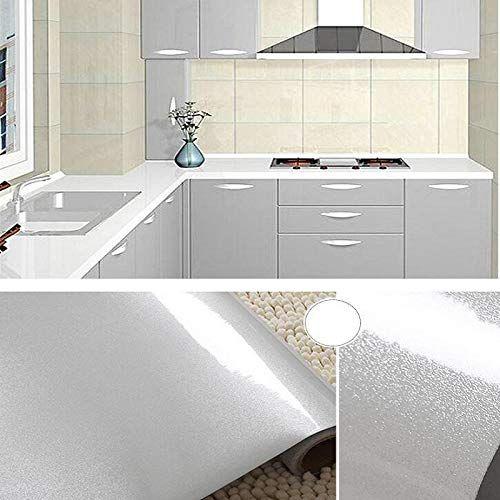 Wooyangfun Waterproof High Gloss Glittery Vinyl Pearl Self Adhesive Contact Paper Peel Stick Film For Furniture Renovation Paper Furniture Wardrobe Furniture