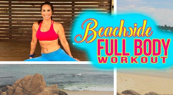 Beachside FULL BODY Workout – video via @nataliejillfit