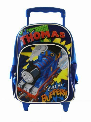Thomas The Train Wheeled Backpack Kid Size Thomas Rolling Backpack ...