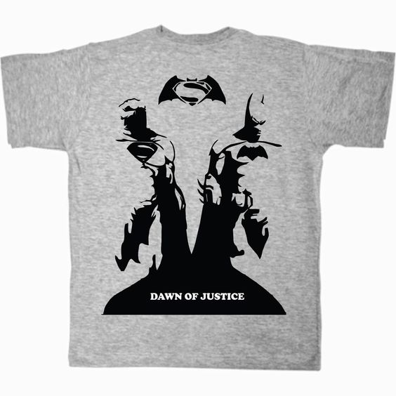 knupSilk - ESTAMPARIA/SERIGRAFIA: Batman vs Superman - Dawn of Justice