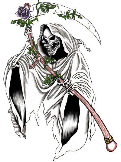 Grim Reaper Tattoos  Designs High Quality Photos