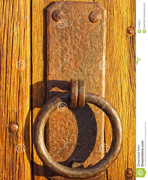 Rustic Barn Door Handles And Pulls: Vertical Photo Of Old Rustic