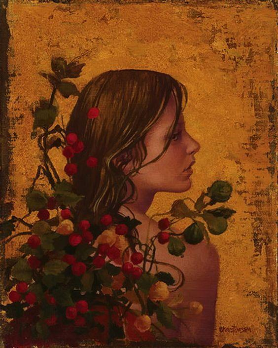 James C. Christensen - is an American artist.: