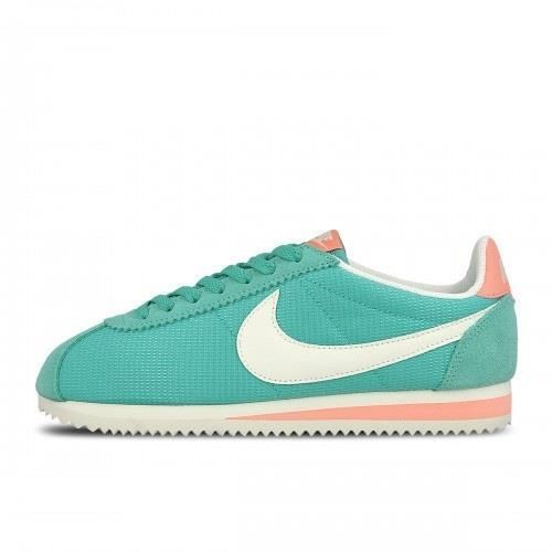 Wmns nike classic cortez txt 844892 310 washed teal green/sail white-atomic  pink | Classic cortez, Nike classic cortez and Teal green