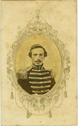 American Civil War Artifacts -                                                      CDV Major Thomas K. Coleman, 4th Alabama Infantry.