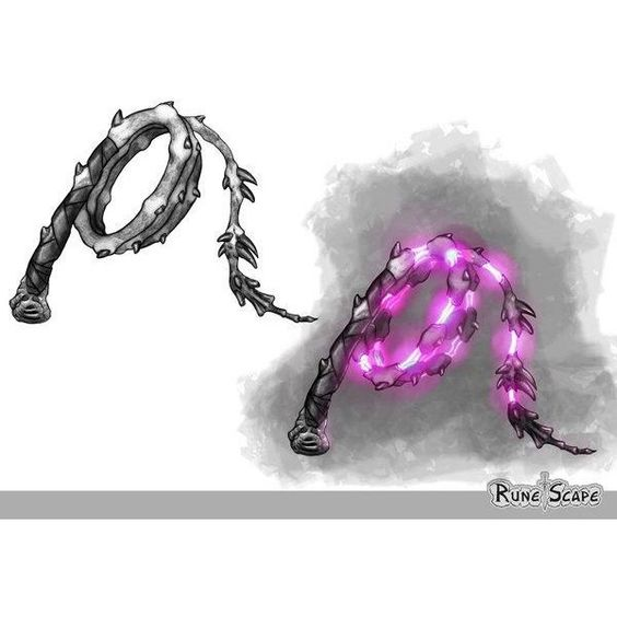Weapon concept-Abyssal Whip by Lbchulo06 ❤ liked on Polyvore featuring weapons