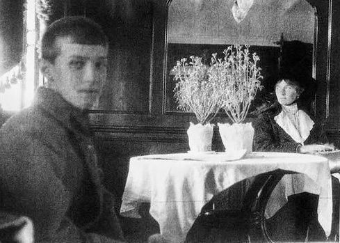 --- BJ GORDON / Isabel Paiva - The last photograph of Grand Duchess Olga and Tsarevich Alexei, aboard a ferry to Yekaterinburg, May 1918 - all-that-is-interesting.com