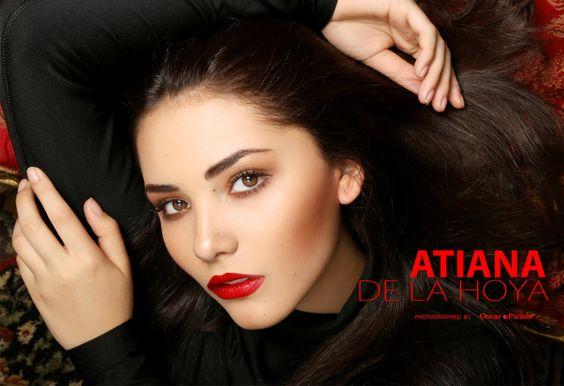 Model Atiana De La Hoya Photographed By Oscar Picazo