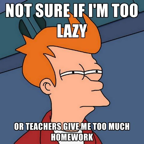 Do teachers give students too much homework