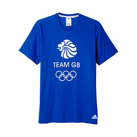£22.00. Adidas Team GB Men's T-Shirt from John Lewis