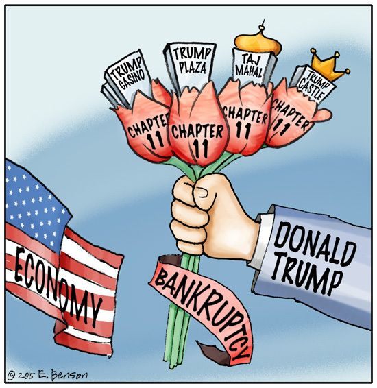 trump bankruptcies: