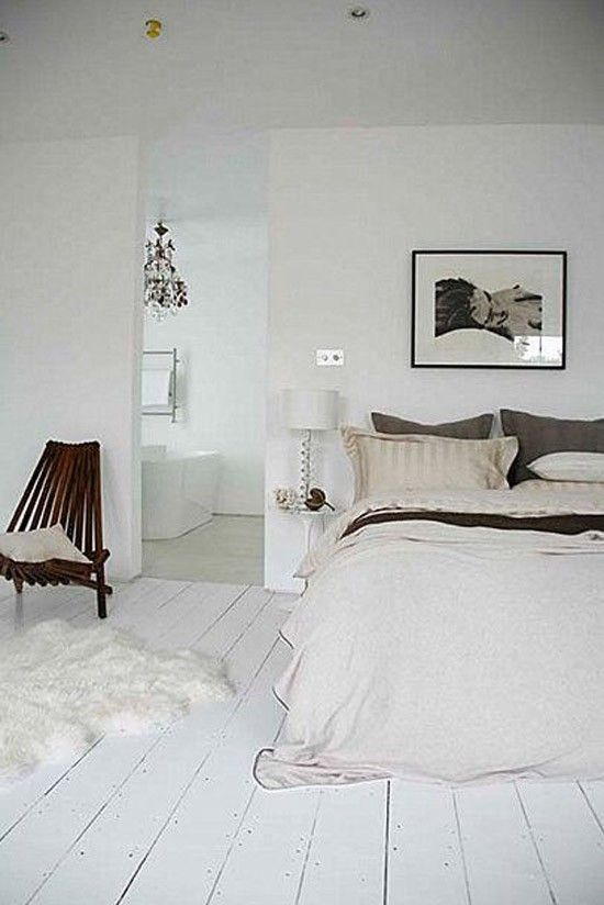 Verwonderend Mooie houten vloer in de slaapkamer | Geschilderde houten vloeren PG-46