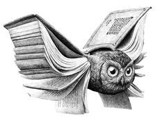 Bücher verleihen den Gedanken Flügel