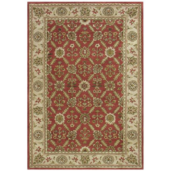 Dynamic Rugs Charisma 1413-300 Red-Ivory Area Rug