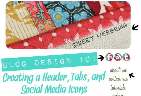 Blog Design tutorial :)