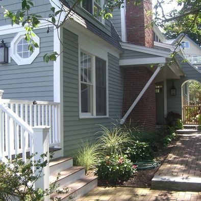 Colonial Exterior Normandy And Benjamin Moore On Pinterest