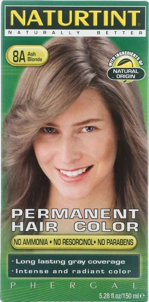 Permanent Hair Color 8a Ash Blonde 5 28 Oz Permanent Hair Color Hair Color Ash Blonde
