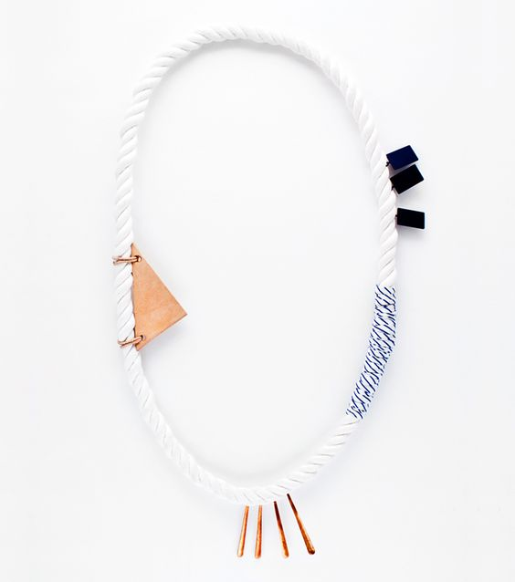 Monica Khemsurov and Jill Singer, co-founders of the online magazine Sight Unseen, have curated a shop full of beautiful experimental one of a kind wearables by artists and designers. They currently have a pop-up shop at Creatures of Comfort, NY, running until May 6th.