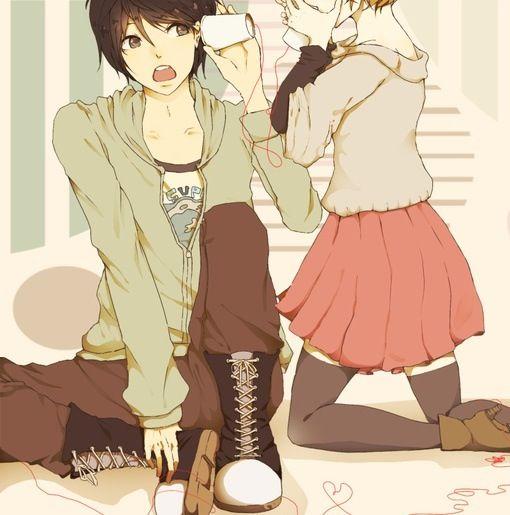 Kết quả hình ảnh cho couple anime cute