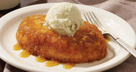 Cracker Barrel Pineapple Upside-Down Cake