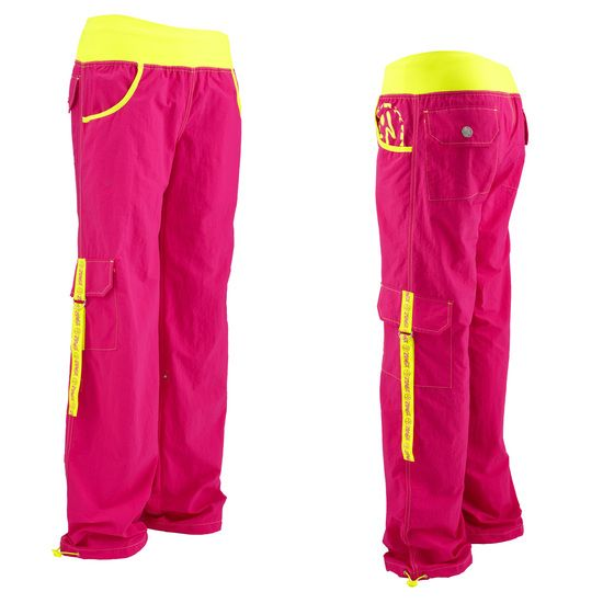 Zumba Cargos. I love these pants. The problem is, I want a pair of every color and I cant afford it. :)