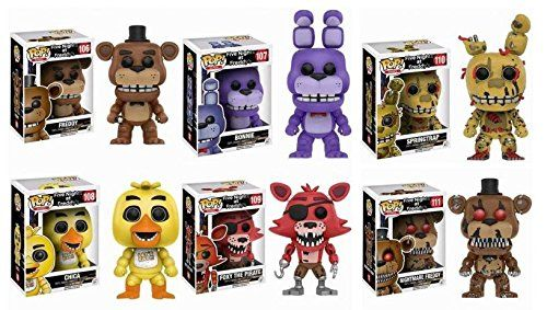 Funko Vinyl Figure Cinq Nights at Freddy/'s Jouet Chica Collectible